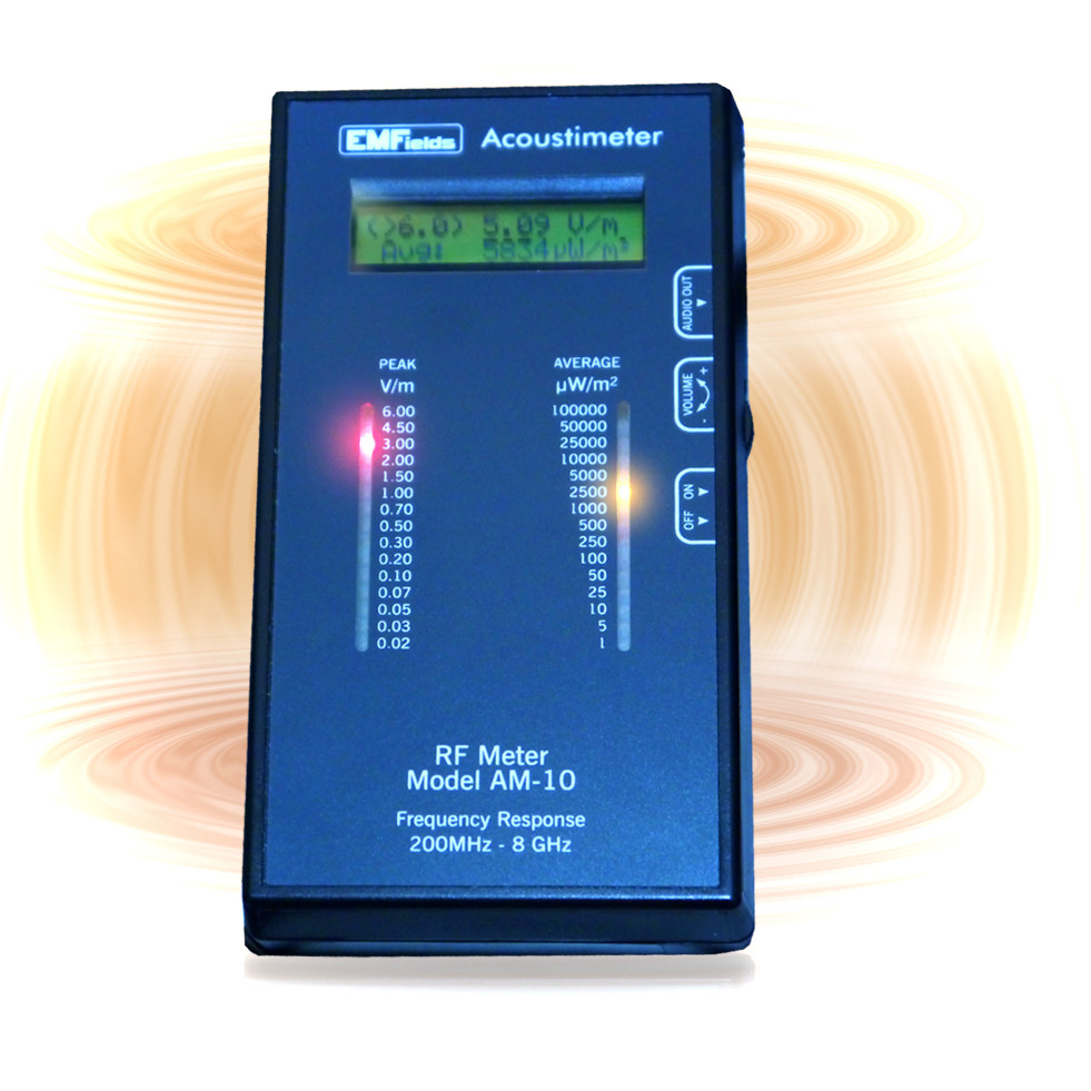 EMF-Microwave Acoustimeter - Check Exposure Levels