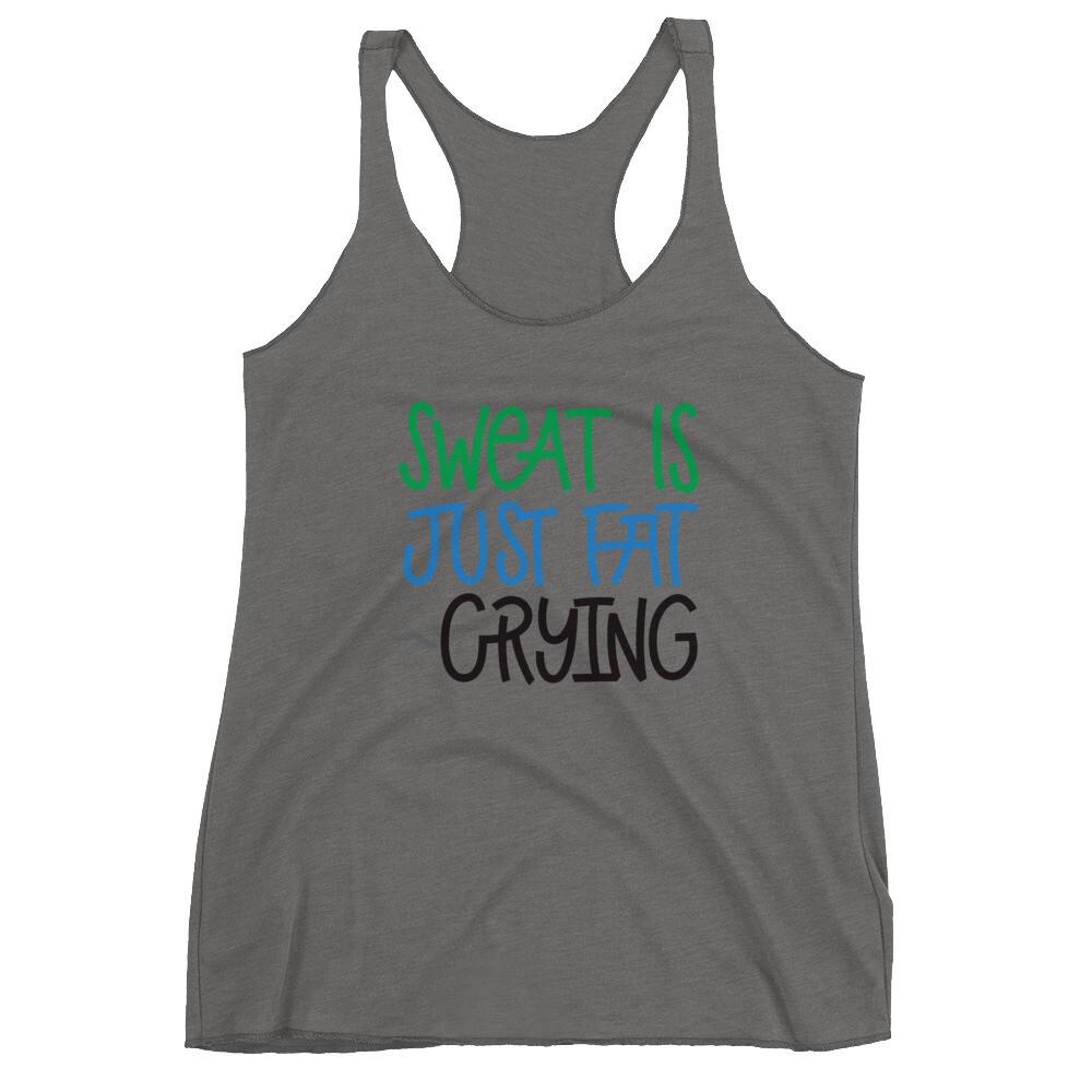 Sweat Is Women's Racerback Tank
