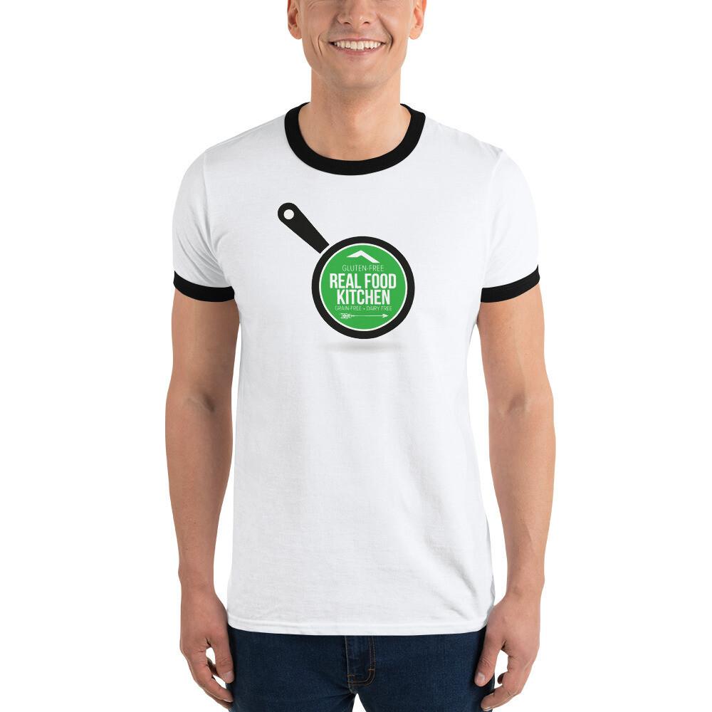 Real Food Ringer T-Shirt