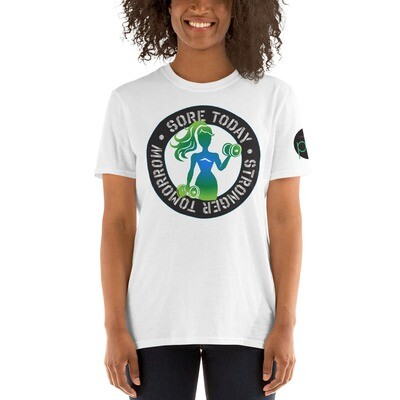 Stronger Tomorrow Short-Sleeve Unisex T-Shirt