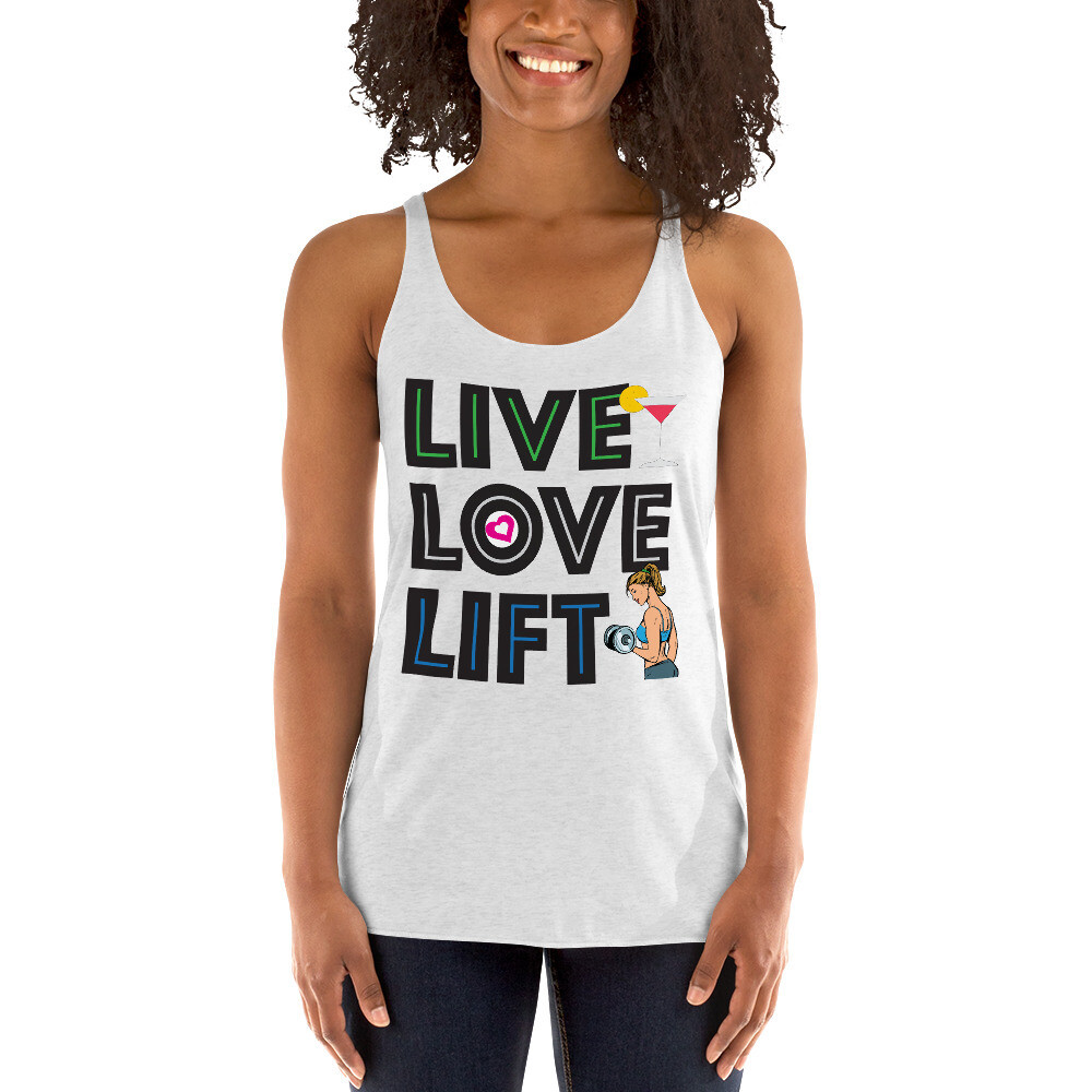 Live Love Lift Women's Racerback Tank