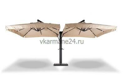 Двойной зонт Рим