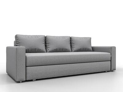 Прямой диван Бергамо Grey
