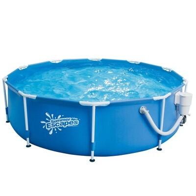 Каркасный бассейн Metal Frame Pool 457*132