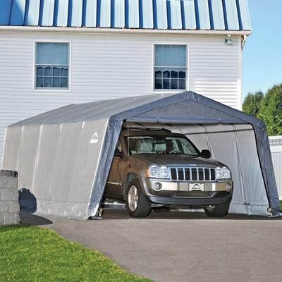 Тентовый гараж-укрытие