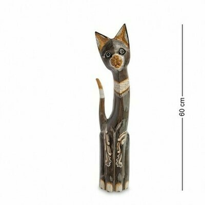 Фигурка Кошка  (албезия, о.Бали)