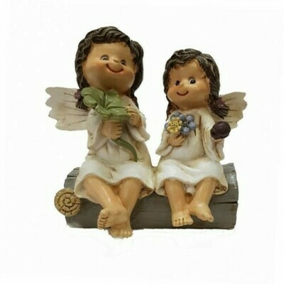 Фигурка Парочка девочек-ангелочков