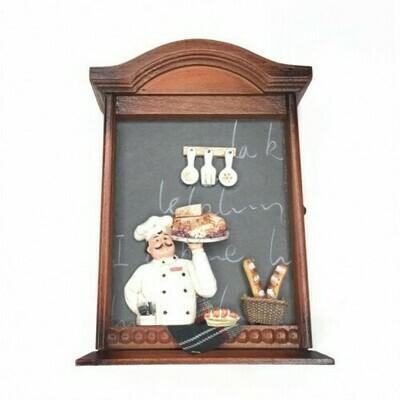 Ключница пекарь-коллаж