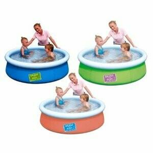 Детский бассейн с надувным верхом