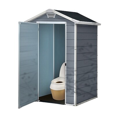 Пластиковый домик для туалета Keter Manor
