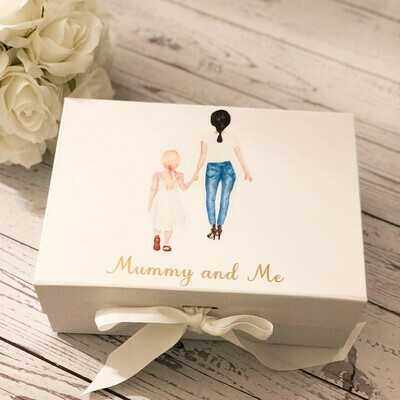 Mothers Day gift box with Silk Robes