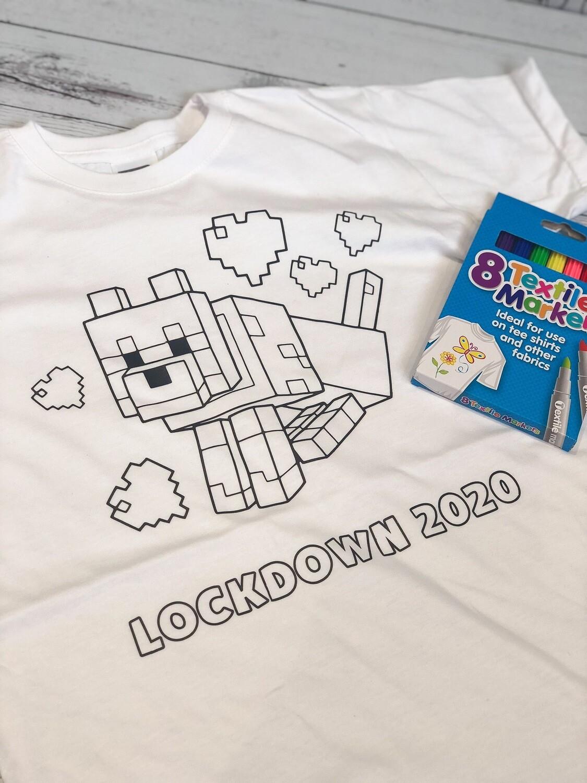 Lockdown Colouring T-Shirt