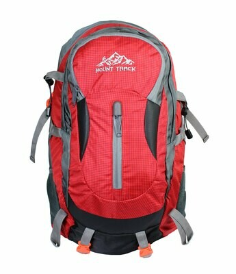 Mount Track R01 Gear Up Rucksack, Hiking & Trekking Backpack 30 Ltrs with Rain Cover and Laptop Compartment