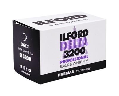 ILFORD Delta 3200, 135-36 MHD 12/2021