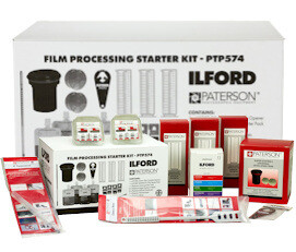 ILFORD Simplicity Film Starter Pack with change bag (PTP574U+)