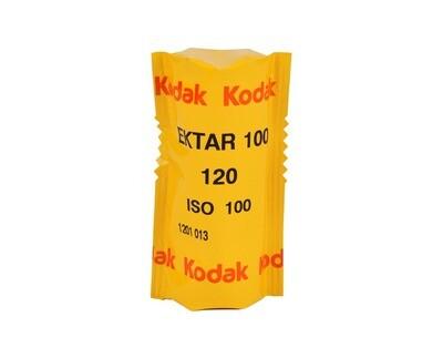 Kodak Ektar 100 Color Negative (Print) Film - format 120  expired 09/2021