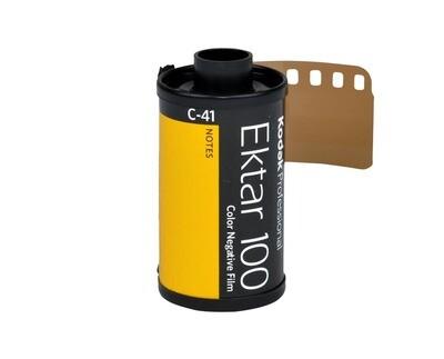 Kodak 135-36 35mm Ektar 100 Color Negative Film (36 Exposure)
