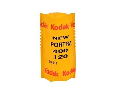 Kodak 120 Professional Portra 400 Color Negative Film Format 120 expired 09/2021
