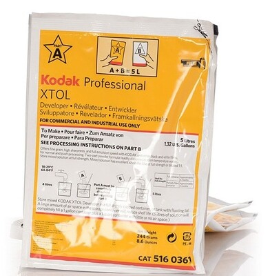 Kodak XTOL Filmentwickler, 5 Liter - 5160361