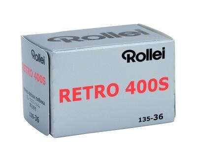 Rollei Retro 400S Kleinbildfilm 135-36 MHD 08/2021