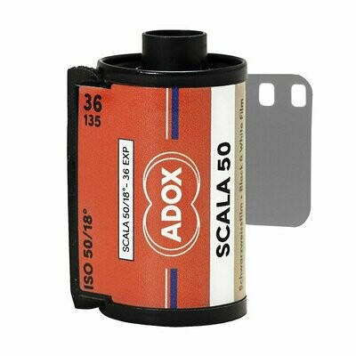 Adox SCALA 50 Black and White Slide Film (35mm Roll Film, 36 Exposures