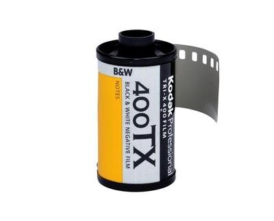 Kodak Tri-X Pan 400, TX-Pan Black & White Negative Film ISO 400, 35mm Size, 36 Exposure