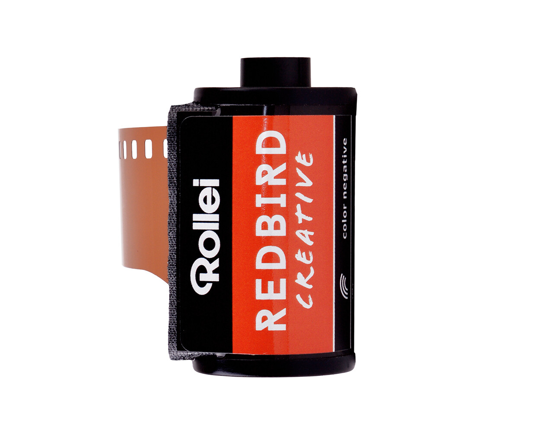 Rollei Redbird 35mm 36 exposures redscale film