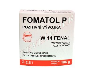 Fomatol Powder P W14 neutral tone paper developer for 2,5L