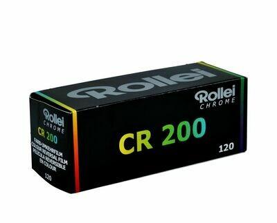 Rollei Chrome CR 200 Rollfilm 120 MHD 01/2021