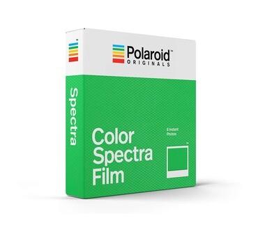 Polaroid Originals IMAGE/Spectra COLOR,  for  Polaroid  Image/Spectra Cameras - 640 ASA - 8 expositions