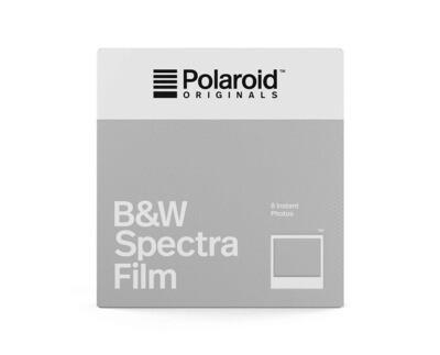 Polaroid Originals IMAGE/Spectra Black & White, for Polaroid Image/Spectra Cameras - 640 ASA - 8 expositions