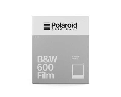 Polaroid Originals 600 Black and White 640 ASA, 8 sheets