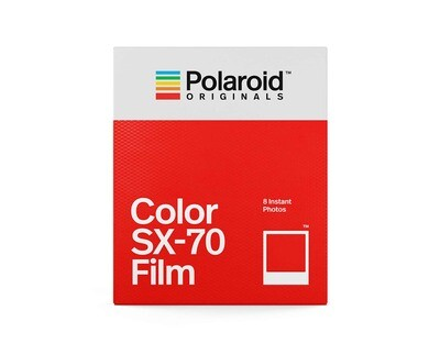 Polaroid Originals SX-70 COLOR for Polaroid SX 70 Kamera, 160 ASA, 8 sheets