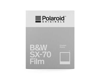 Polaroid Originals SX-70 Black and white film, 8 sheets