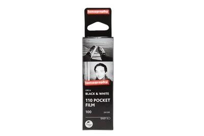 Lomography Orca Black and White Negative Film (110 Cartridge, 24 Exposures)