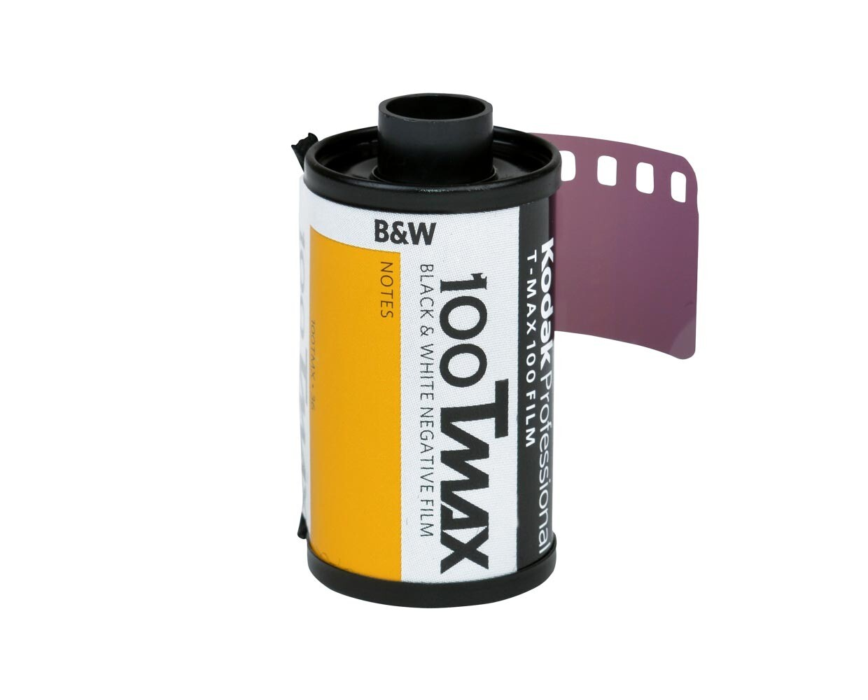 Kodak T-Max 100 Professional Black & White Negative (Print) Film (ISO-100) Format 135-36  date 12/2012