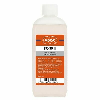 Adox FX-39 II Black and White Film Developer (500mL) for 20 films