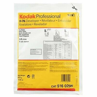 Kodak D-76 Developer (Powder) for Black & White Film - Makes 3,8 Liter -5160296