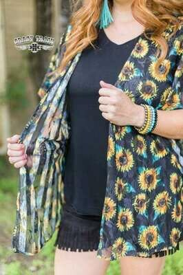 CRAZY TRAIN Waverly Lace Kimono