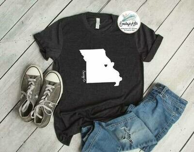 Missouri - Heart Tee