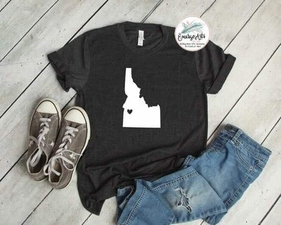 Idaho - Heart Tee