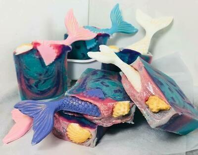 Mermaid Tails - Soap Bar