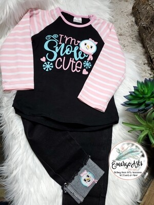 I'M SNOW CUTE 2PC SET