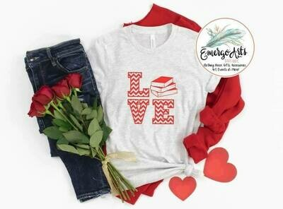 Love Books Tee