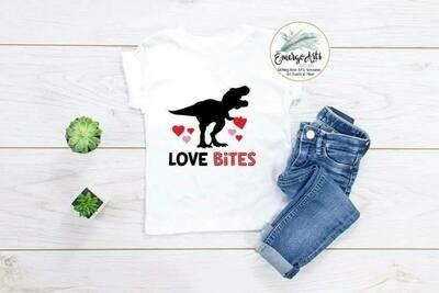 Dino Love Bites Tee