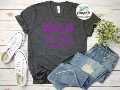 Boss Of The Class Teacher Tee