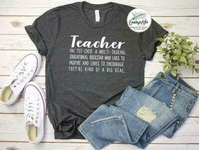 Teacher Is Tee