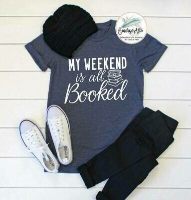 Booked Weekend Tee