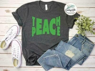 Teach Peace Tee