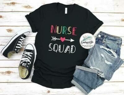 Nurse Squad Tee